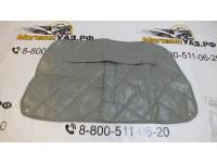 Утеплитель радиатора 469 светло-серый прострочка ромбом