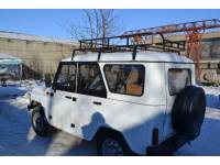 Багажник на УАЗ Хантер Турист 1.85м (6 опор)