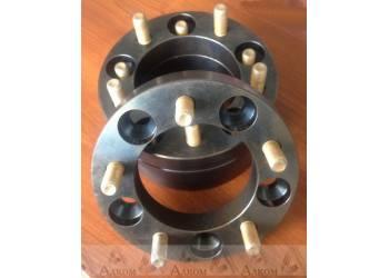 Расширитель колеи (ступичные проставки) УАЗ (5*139,7) 40 мм (сталь)